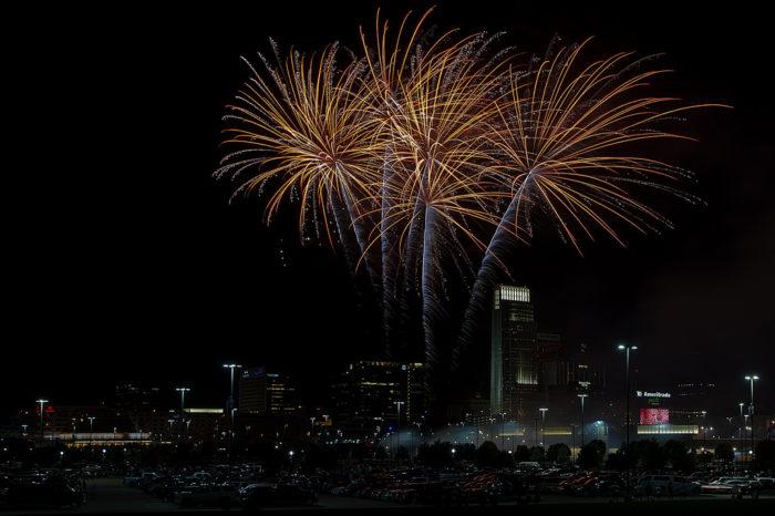 11. Fireworks