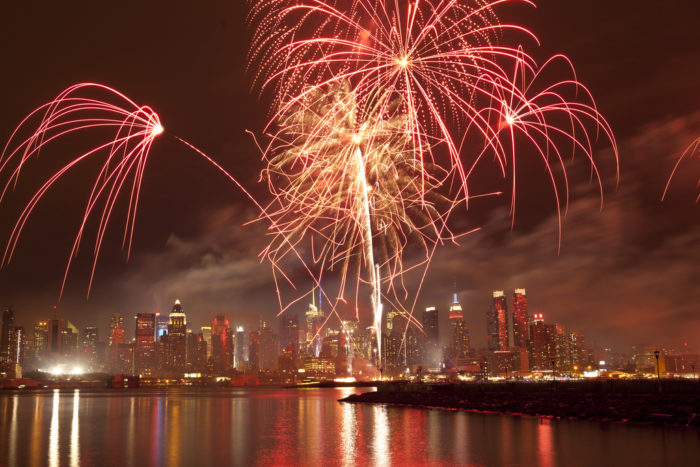 1. Freedom And Fireworks Festival, Jersey City