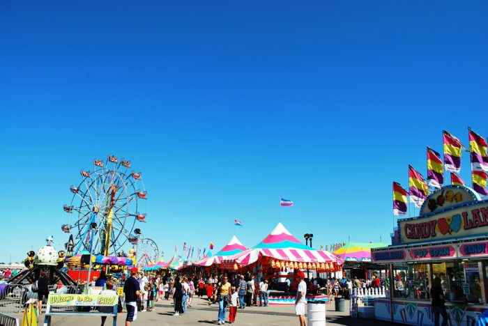 1. Go to one of the big fairs or festivals such as the Valley Fair or the North Dakota State Fair.