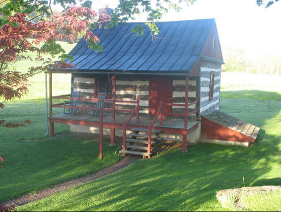 5.  The Gruber Homestead Settlers Cabin, Robesonia