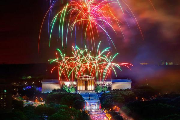 1. Philadelphia Fourth of July Celebration, Philadelphia