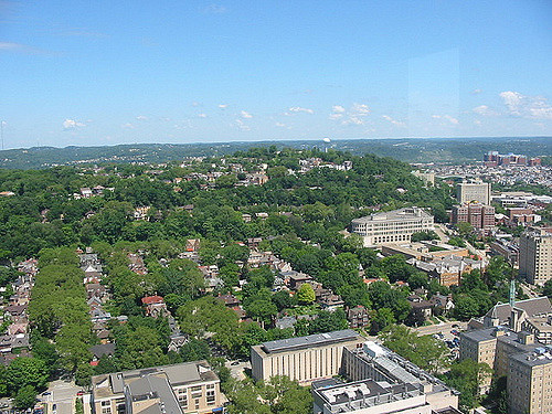 6. The Cathedral of Learning – 36th floor