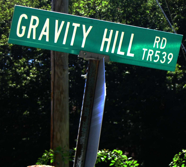 6. Gravity Hill