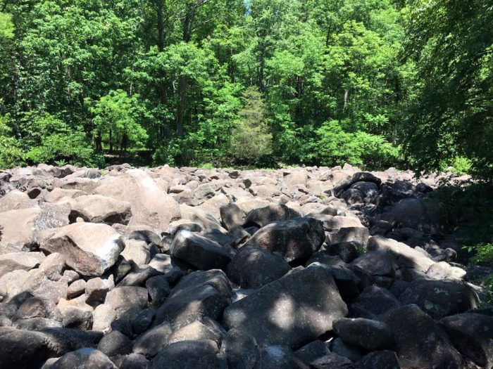 6. Make music on the rocks in Bucks County's Ringing Rocks Park.