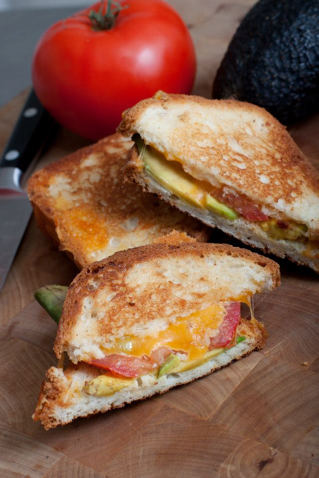 6. Grilled Cheeserie's decadent grilled cheese