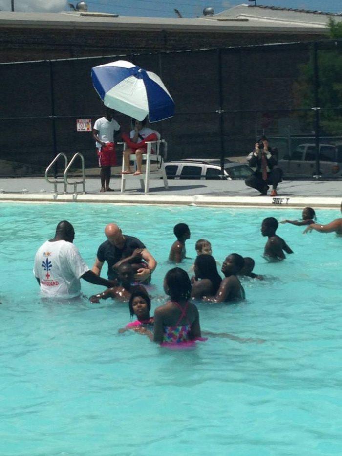 6) Go swimming at Lyons Pool.