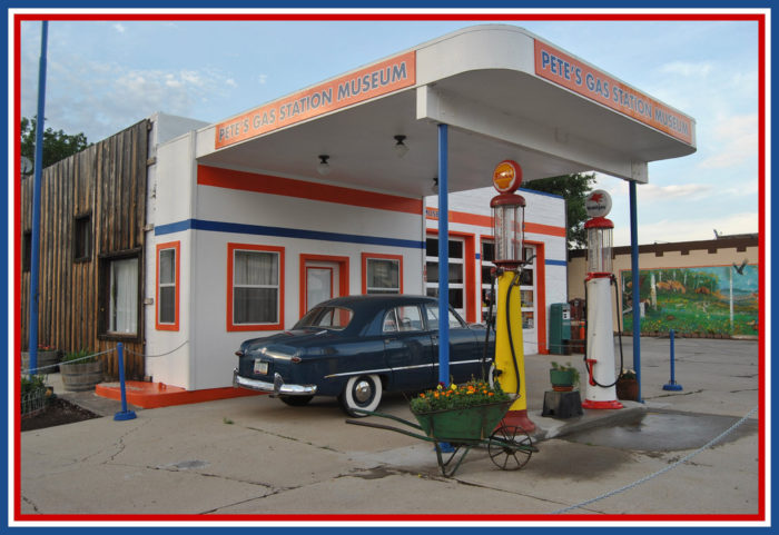 11. Visit Pete's Route 66 Gas Station Museum for a piece of Americana.