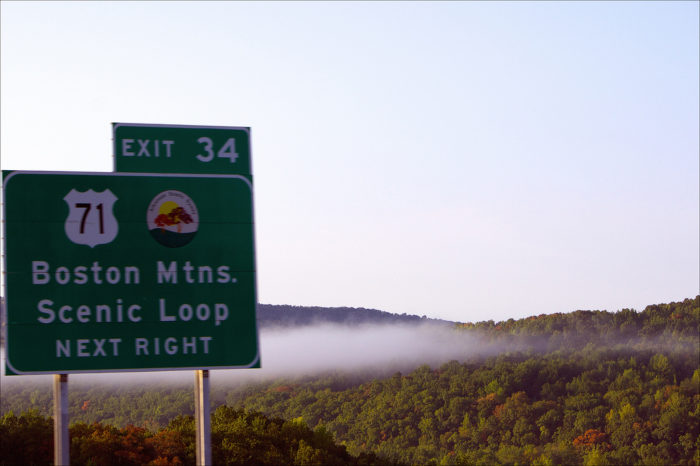 11.Scenic byway signs are always reminding us to take it all in.