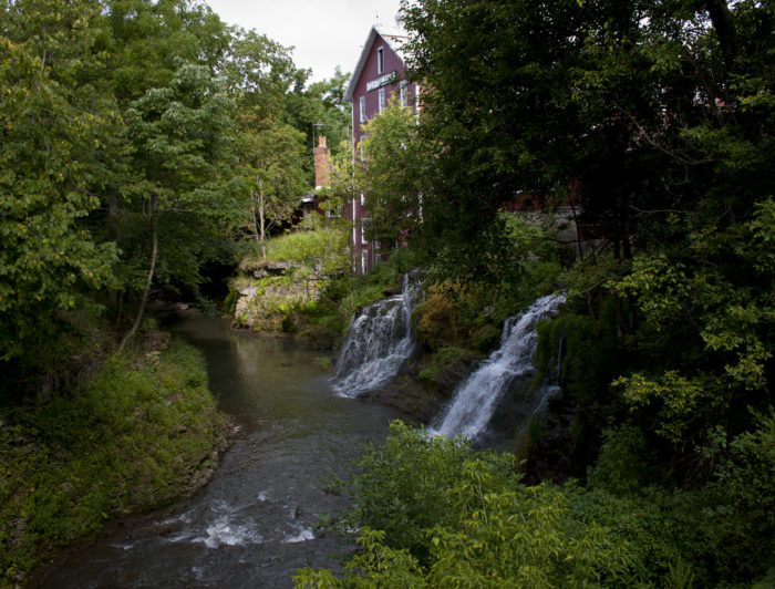 7. Clifton Mill Falls (Clifton)