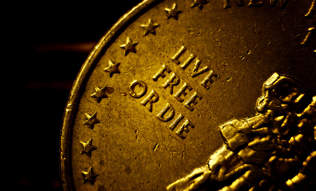 """1. Our state motto is """"live free or die."""""""