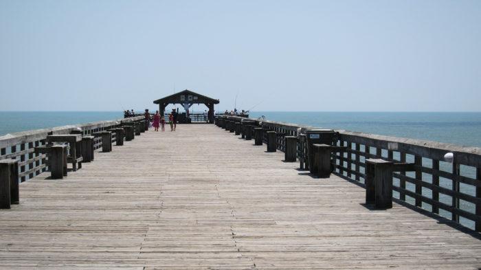 7. Myrtle Beach State Park Pier