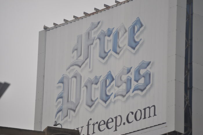 7. Detroit newspaper strike