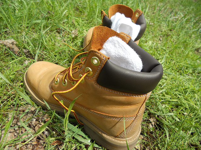 3. Timberland boots