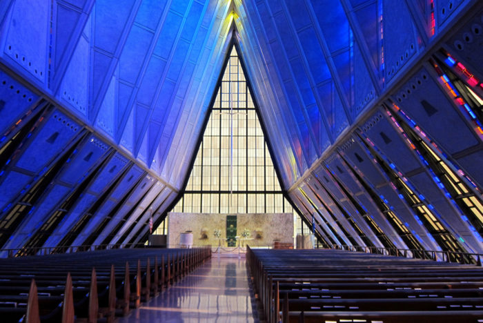 5. United States Air Force Academy Cadet Chapel (Colorado Springs)