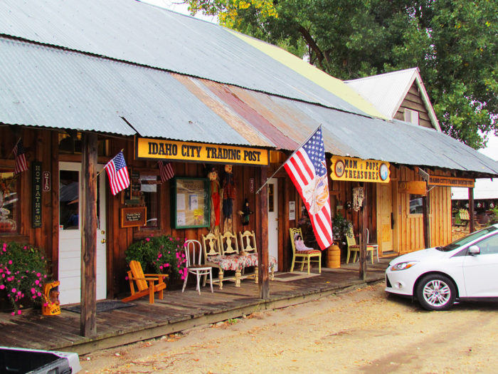 8. Take a trip back in time in Idaho City.