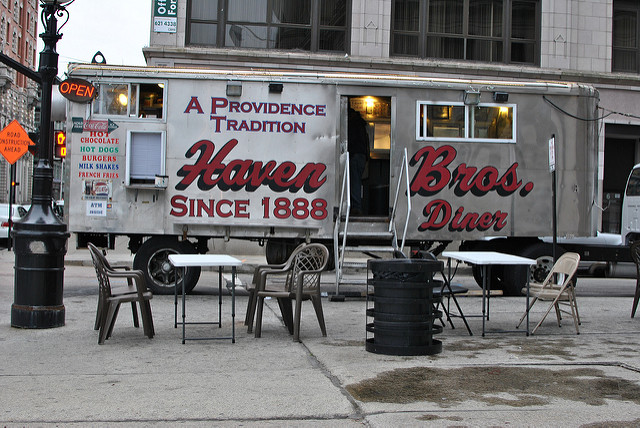 2. Providence was the first city to introduce the diner and Haven Bros. keeps this delicious tradition alive right in downtown!