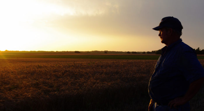 12. One of our many hardworking Kansas farmers