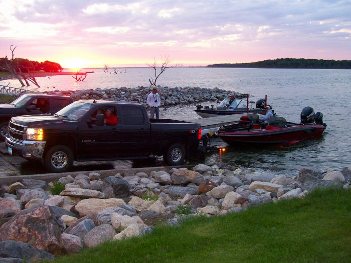 4. Get up bright and early to go fishing on Devils Lake. The fish you can catch here will make a great story - and meal - to take home.