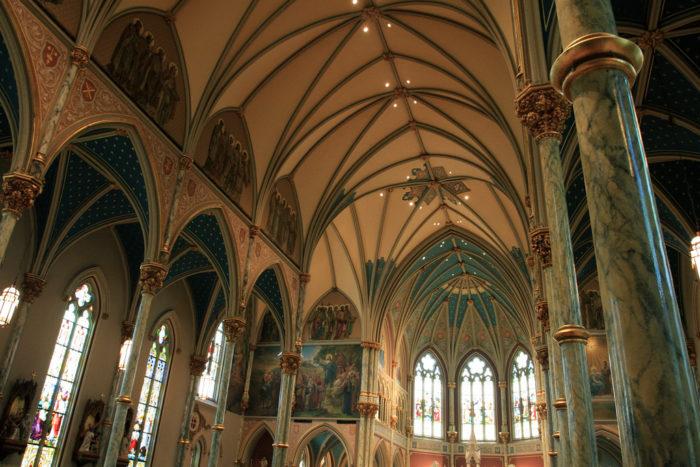2. The Cathedral of St. John the Baptist, Savannah