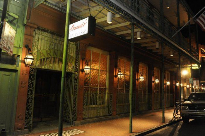 6) Arnaud's & the French 75 Bar, 813 Bienville ST., 1918