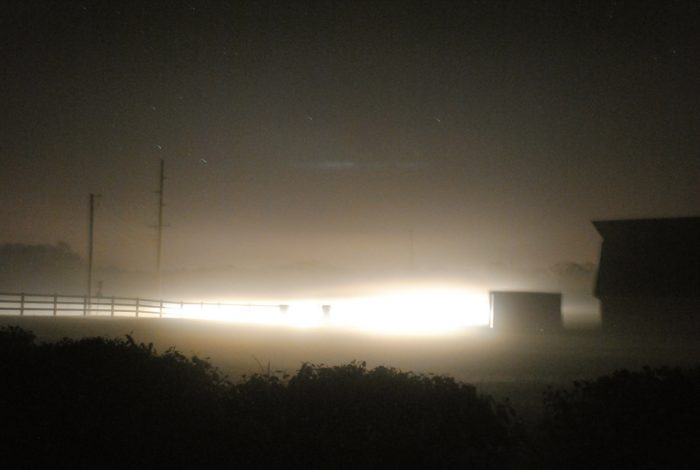4. This Thick Fog Over The Delaware Bay