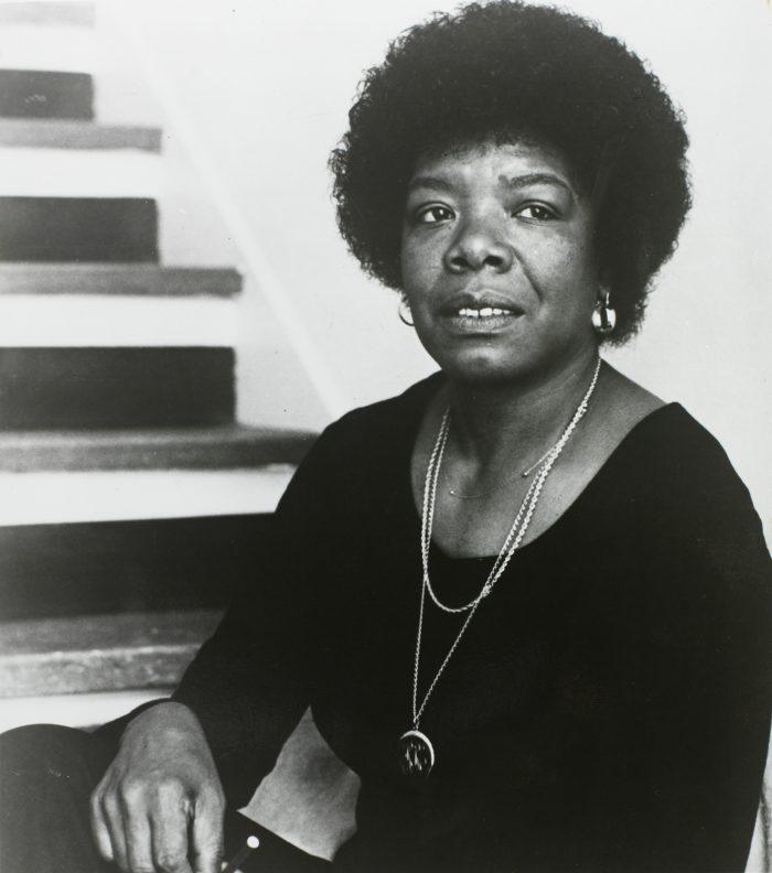 14.. . . and Maya Angelou.