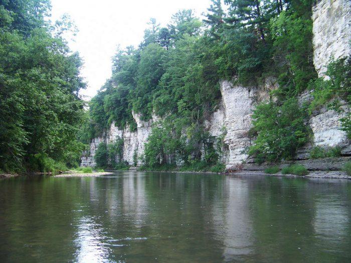 1. Upper Iowa River