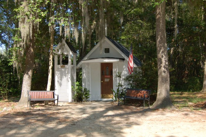 3. Take a tour of the Smallest Church in America.