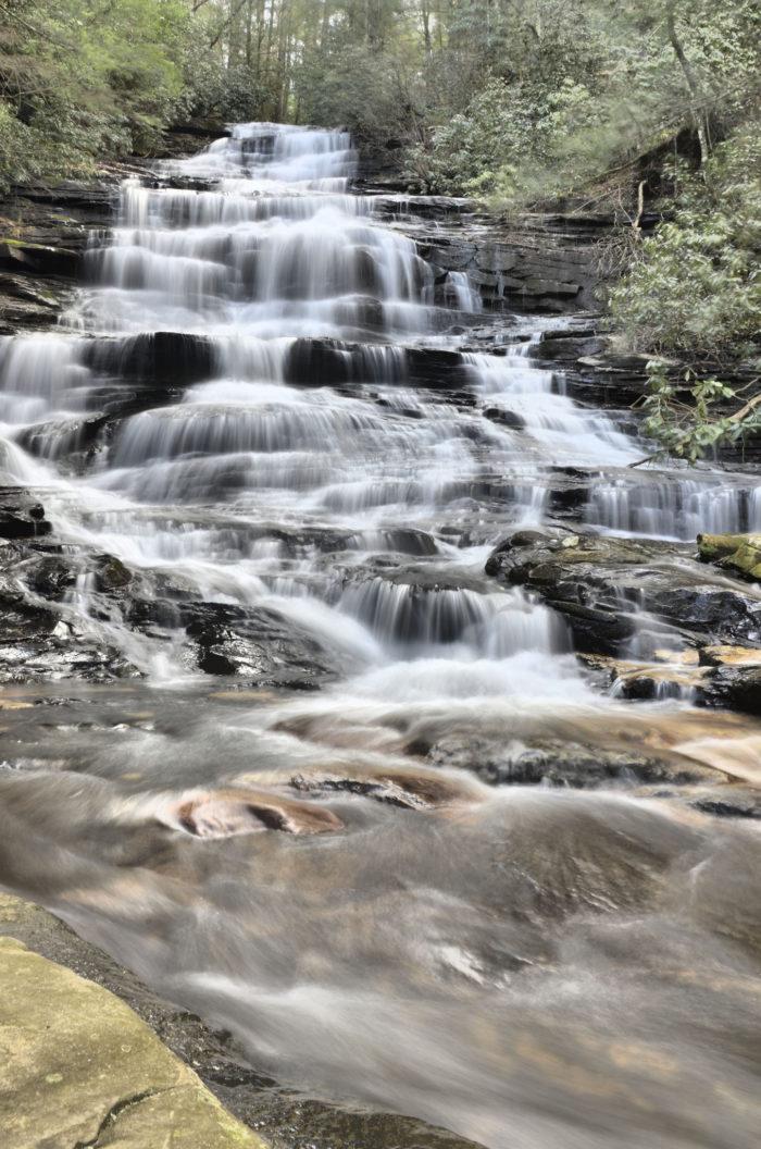 5. Minnehaha Falls—Rabun County, Georgia
