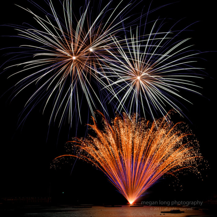 3. Music by the Sea and Fireworks, Camden