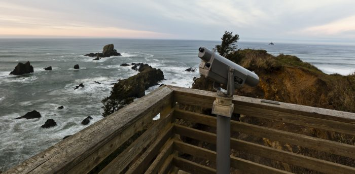 Close by Cannon Beach is the stunning Ecola State Park, which is one of the best areas for sightseeing on the coast.