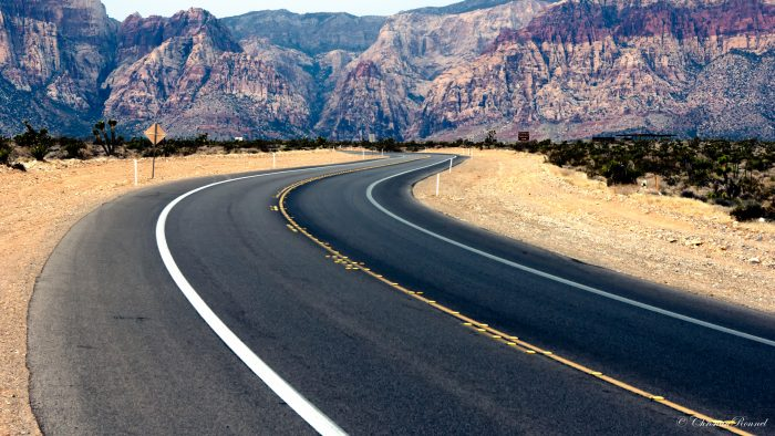 6. Red Rock Canyon Road