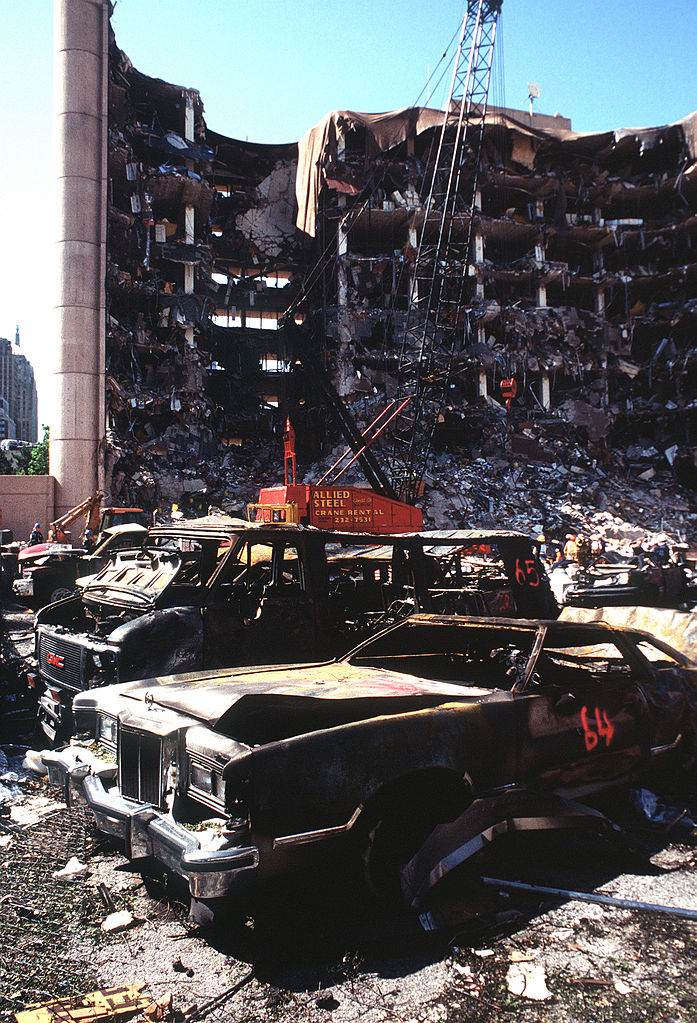 9. 1995: The nation is shaken to its core after 168 people are killed during a bombing at the Alfred P. Murrah Federal Building in downtown Oklahoma City.