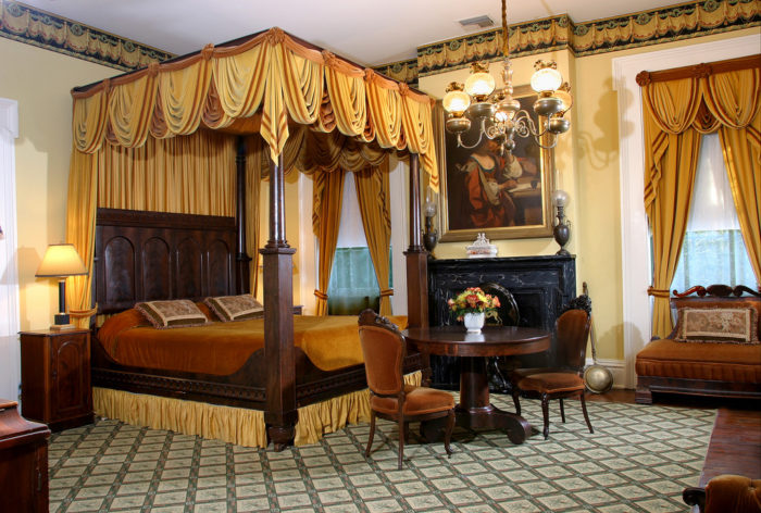 While transforming the home into a hotel, the new owners had several run ins with Monmouth's past owner. According to reports, the phantom general made his presence known by stomping around loudly, and that's not all.