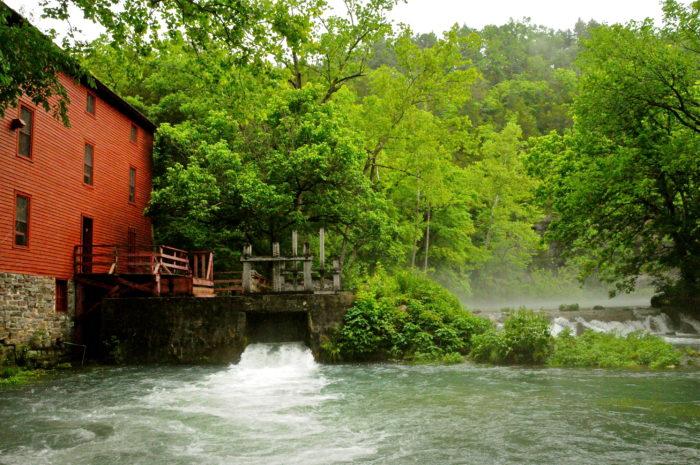 5. Jack's Fork River – Eminence