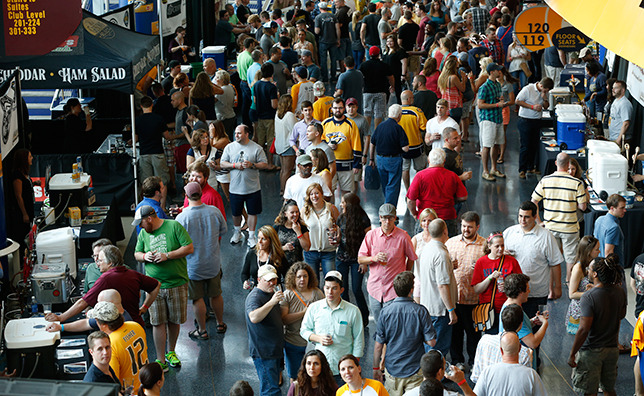 3. Nashville Predators Craft Beer Festival - June