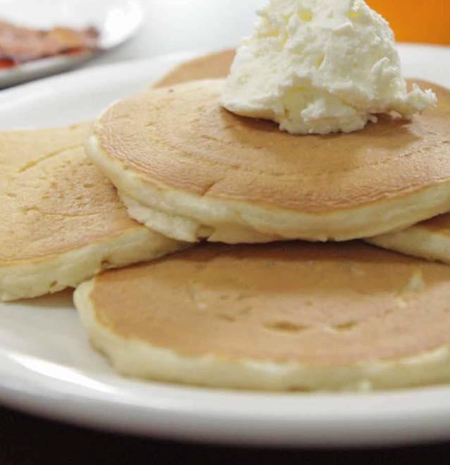 7. Pancakes from The Pancake Pantry