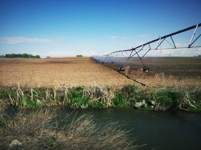 2. There's something beautiful about the rustic elegance of an irrigation pivot.