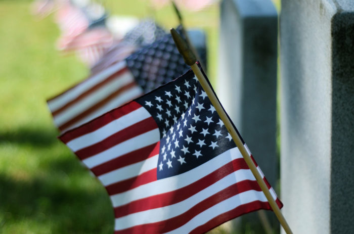 4. We honor our veterans and troops.