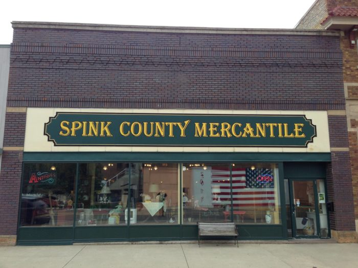 5. Spink County Mercantile - Redfield