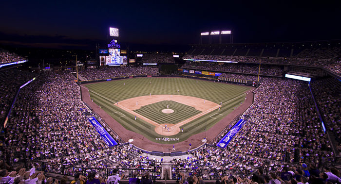 """3. """"Coors Field from the 3rd level."""""""