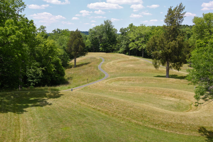 3. Great Serpent Mound (Peebles)