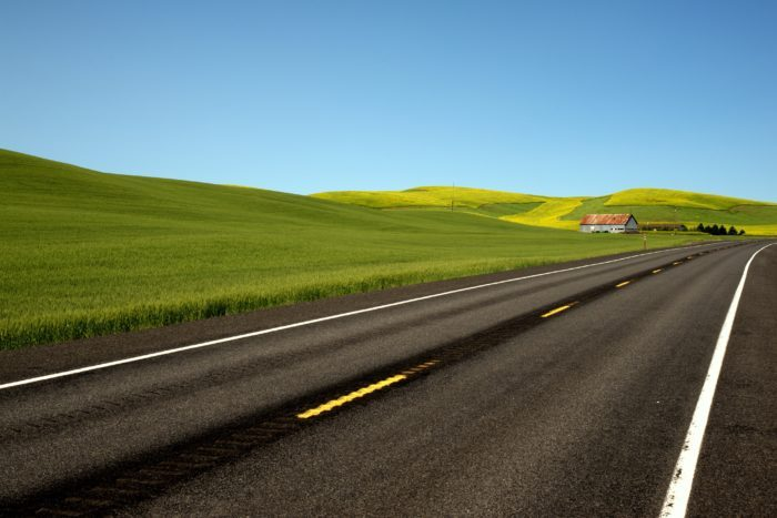 5. Washington: Palouse Scenic Byway