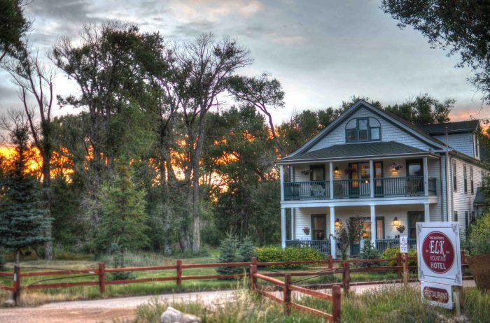 4. The Historic Elk Mountain Hotel