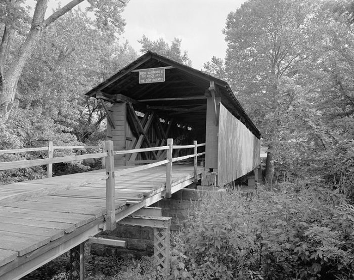 3. Mud River Covered Bridge, Cabell County