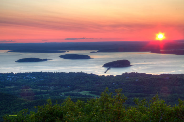 The 8 Most Scenic Overlooks In Maine