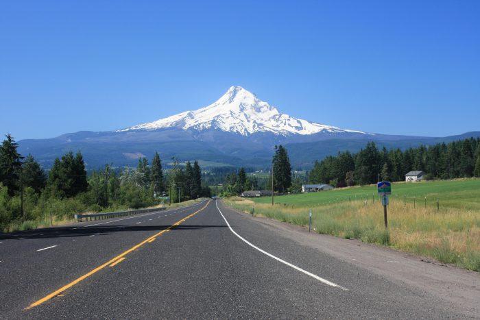 1. Mt Hood Scenic Byway