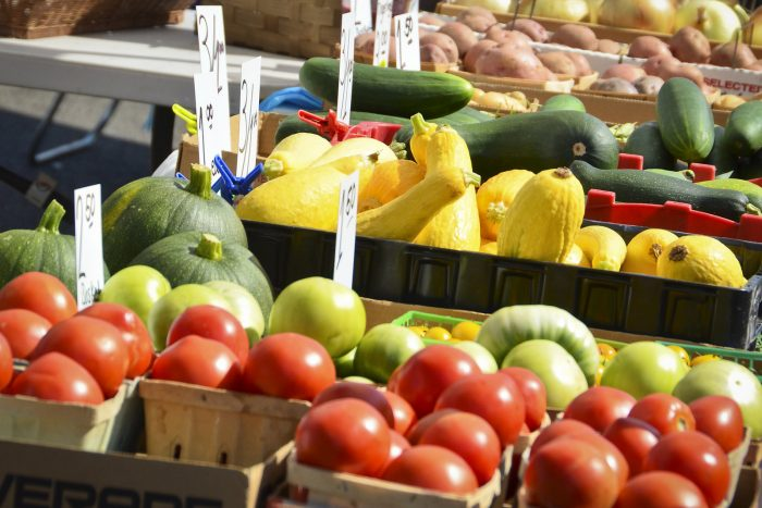 7. Check out your local farmers market. It will revolutionize your grocery shopping.