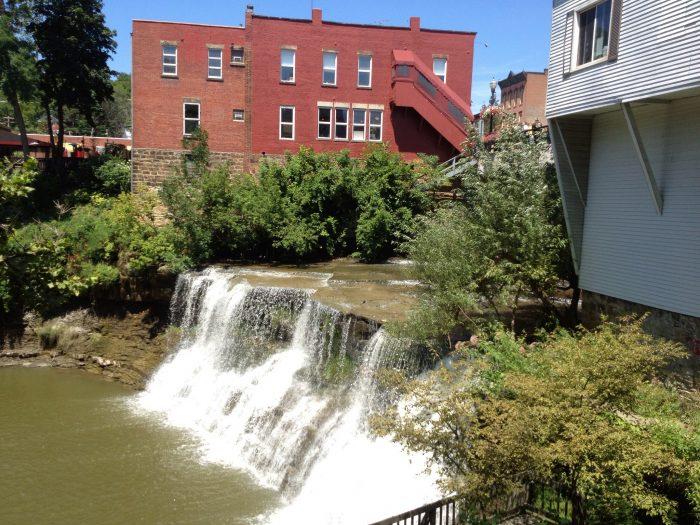 8. Chagrin Falls