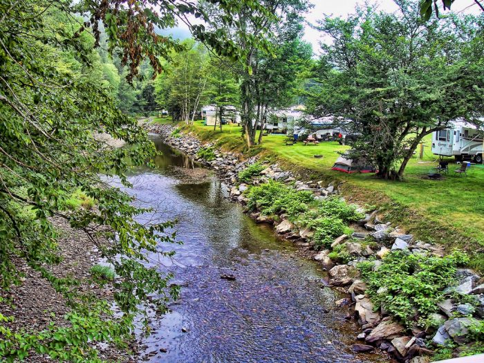 5.  Able Mountain Campground, Braintree